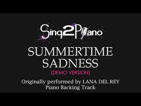 Lana Del Rey - Summertime Sadness (Piano Version) Р-2