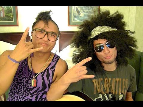 Victor and Hok (Quest crew) - LMFAO Party Rock Anthem (acoustic)