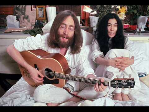 John Lennon - Give Peace a Chance( Лозунг хиппи 60-х)