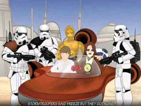 Star Wars / Звёздные Войны Bentframe - Star Wars Gangsta Rap Chronicles