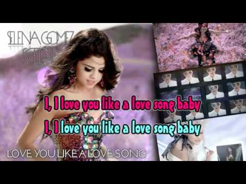 Selena Gomez  Love You Like A Love Song (back) минус