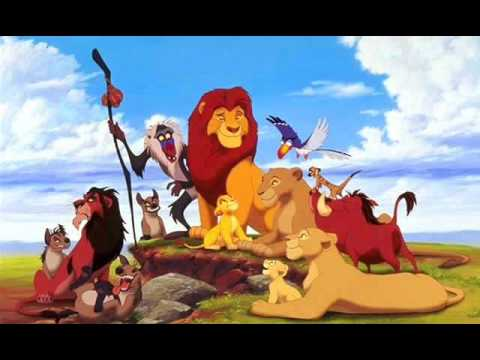 Lion King In The Jungle